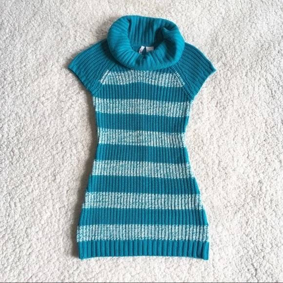 72f89d7e647b Heart N Crush Knit Cowl Neck Sweater Dress Top M